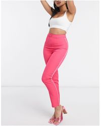 Club L London Pantalones - Rosa