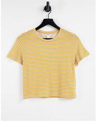 Monki T-shirt - Yellow