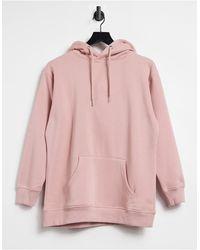 Urban Bliss – Oversize-Kapuzenpullover im Boyfriend-Stil - Pink