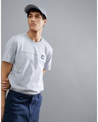 The North Face - Never Stop Exploring Print T-shirt In Grey Marl - Lyst