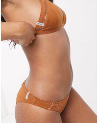 Rhythm Cheeky Hipster Bikini Bottom - Orange
