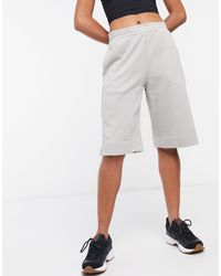 Weekday Terry Jersey Shorts - Gray