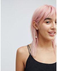 Krystal London - Swarovski Crystal Fireball On Earwire Earrings - Lyst