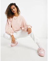 UGG Розовый Джемпер С Круглым Вырезом И Объемными Рукавами Brook-розовый Цвет