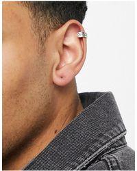 Classics 77 Patterned Ear Cuff - Metallic