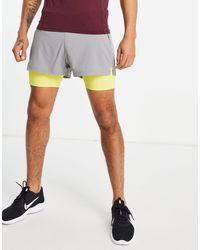 ASOS 4505 Icon 2-in-1 Shorts - Black