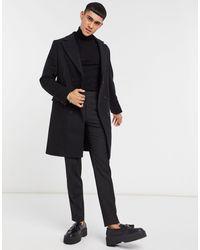Bolongaro Trevor - Шерстяное Пальто Mikey-черный Цвет - Lyst