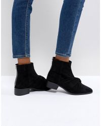 Pull&Bear - Ankle Boot With Twist Front Detail - Lyst