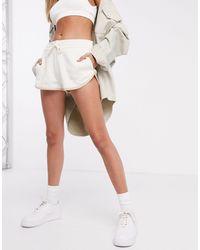 Nike Кремовые Шорты Для Бега -желтый