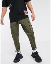 The Couture Club Cargo Pants - Green