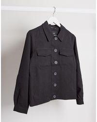 Vero Moda Oversized Trucker Jacket - Black