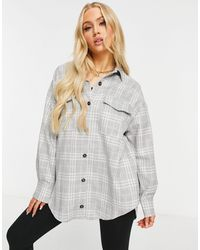 ASOS - Check Suit Shacket - Lyst