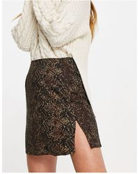 Motel Mini A-line Skirt - Multicolour
