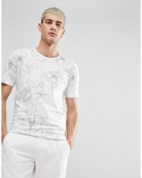 Only & Sons | Flower T-shirt | Lyst
