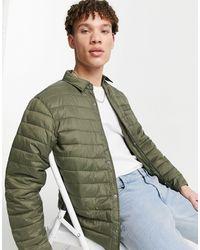 New Look Padded Jacket - Green