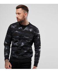 DIESEL - Camo Sweater - Lyst