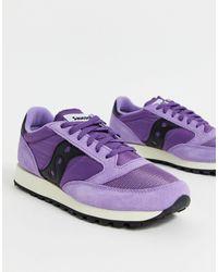 Saucony Кроссовки Jazz-фиолетовый - Пурпурный