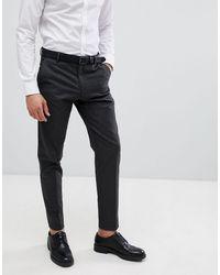 SELECTED Pantalon - Gris