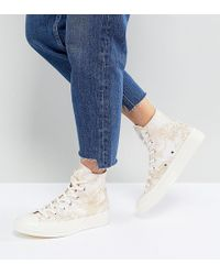 Converse - Chuck 70 High Top Jacquard Sneakers - Lyst