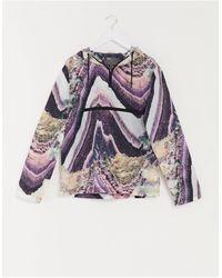 ASOS Co-ord Windbreaker - Purple