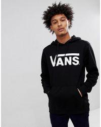 Vans - Classic Pullover Hoodie In Black V00j8ny28 - Lyst