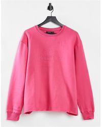 Threadbare Lola Graphic Sweatshirt - Pink
