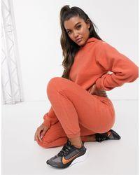 ASOS 4505 Мягкие Джоггеры -оранжевый - Красный