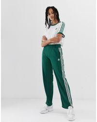 adidas Originals - Track Trousers In Green - Lyst