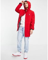 Tommy Hilfiger Modern Essentials Parka Jacket - Red