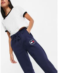 Tommy Jeans Damen Tjw Logo Sweatpant Sporthose