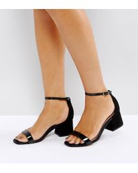 efe464e7c6ba ASOS - Asos Honeydew Block Heeled Sandals - Lyst
