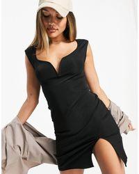 Ivyrevel Ivy Revel Cap Sleeve Mini Dress - Black