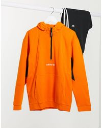 adidas Originals Adventure Field Hoodie - Orange