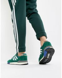 b8ef098fb05612 Lyst - adidas Originals Campus Sneakers In Yellow Bz0088 in Yellow ...