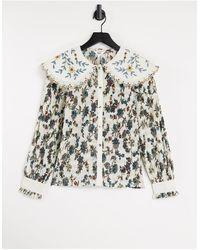 Object Plisse Shirt - Multicolour