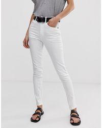 Cheap Monday High Skin Skinny Jeans - White