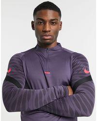 Nike Football Strike Drill Top - Purple