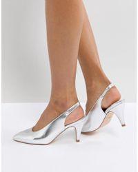 Faith - Clarissa High Vamp Heeled Shoes - Lyst