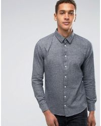 Casual Friday | Flannel Shirt In Regular Fit | Lyst
