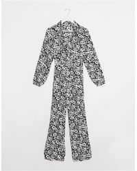 ONLY Ophelia Long Sleeve Boilersuit - White