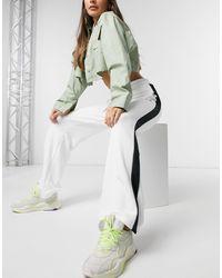 PUMA T7 Classics Wide Leg Trousers - White