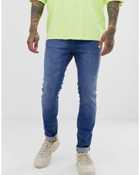 Wesc Alessandro Skinny Jeans - Blue