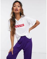 Adolescent Clothing Don't text him - Ensemble pyjama short et t-shirt - Multicolore