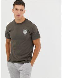Cheats & Thieves Apache Vibes Back Print T-shirt - Green
