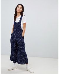 ASOS - Cord Overall In Star Print - Lyst