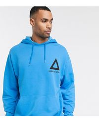 ASOS Tall Oversized Hoodie - Blue