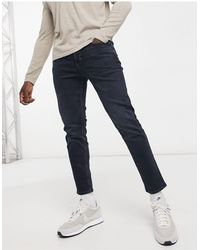 River Island Tapered Jeans - Blue