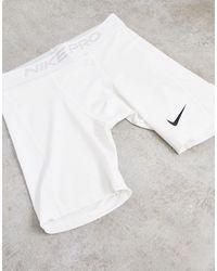 Nike Белые Боксеры-брифы Nike Pro Training-белый