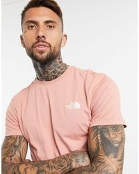 The North Face The Simple Dome T Shirt - Pink