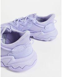adidas Originals Сиреневые Кроссовки С Пропиткой Ozweego-фиолетовый Цвет - Пурпурный